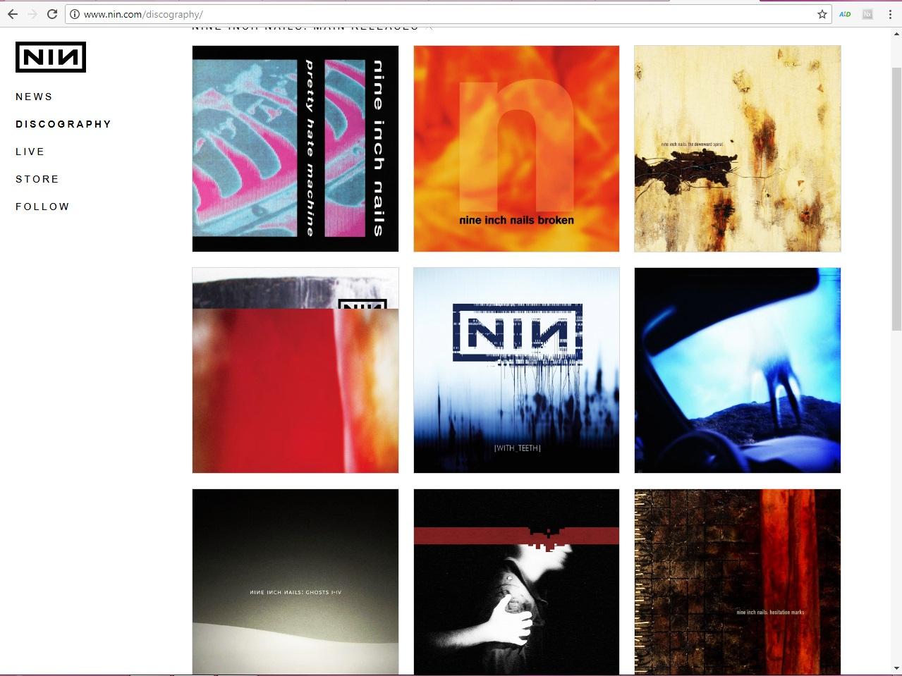 Sunday Inspiration: Nine Inch Nails | l. leona davis